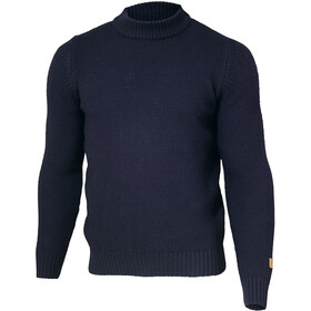 Ivanhoe of Sweden GOTS Ash Crewneck Pullover Men navy